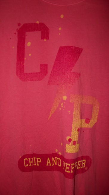 Chip and Pepper Summer Paper Thin Festival Trendy Distressed T Shirt Pink Image 1