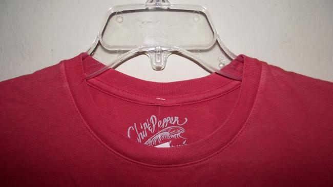 Chip and Pepper Summer Paper Thin Festival Trendy Distressed T Shirt Pink Image 2