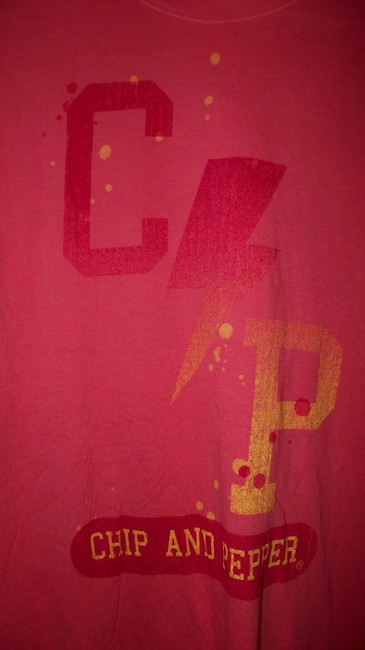 Chip and Pepper Summer Paper Thin Festival Trendy Distressed T Shirt Pink Image 3