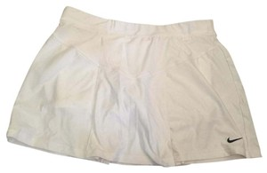 Nike Tennis Active Fitness Tennis Skirt White Shorts