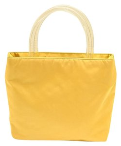 Prada Satchel in yellow