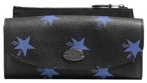 Coach 53568 Pop Slim Envelope Wallet in Star Canyon Print Coated Canvas