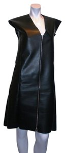 Céline Celine Faux Leather Dress