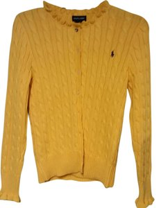 Ralph Lauren Blu Label Cable Knit Sm/med Cardigan