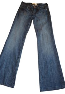 Paper Denim & Cloth & Jayne Premium Trouser/Wide Leg Jeans-Dark Rinse