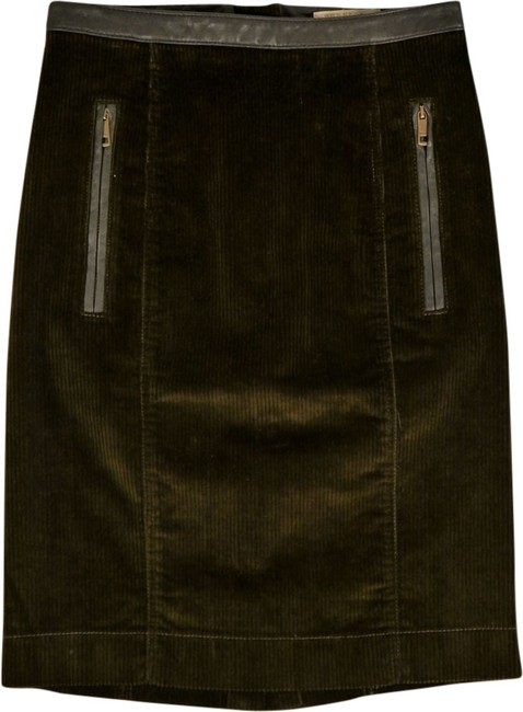 Burberry Skirt Olive Green