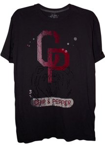 Chip and Pepper Summer Festival Paper Thin Trendy Distressed T Shirt Gray