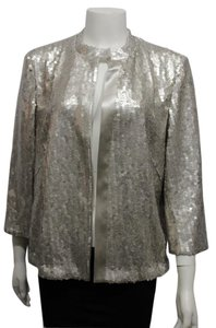 Akris Women Cocktail Silver-champagne Jacket