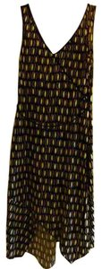 Laundry by Shelli Segal short dress Black/White Belted Geometric Print Sheath on Tradesy