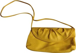 Vintage Yellow Purse Shoulder Bag