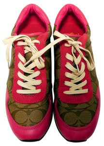 Coach Pink an d Khaki Athletic