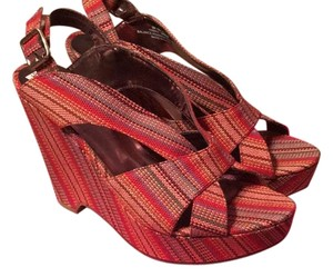 Madeline Red multi Sandals