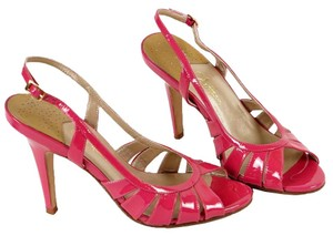 Cole Haan Leather Comfortable Air Nike Sandals Pink Pumps