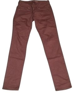 American Eagle Outfitters Skinny Pants Brown