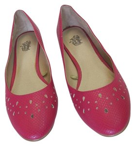 Faded Glory New Size 8.00 M Excellent Condition Pink, Flats