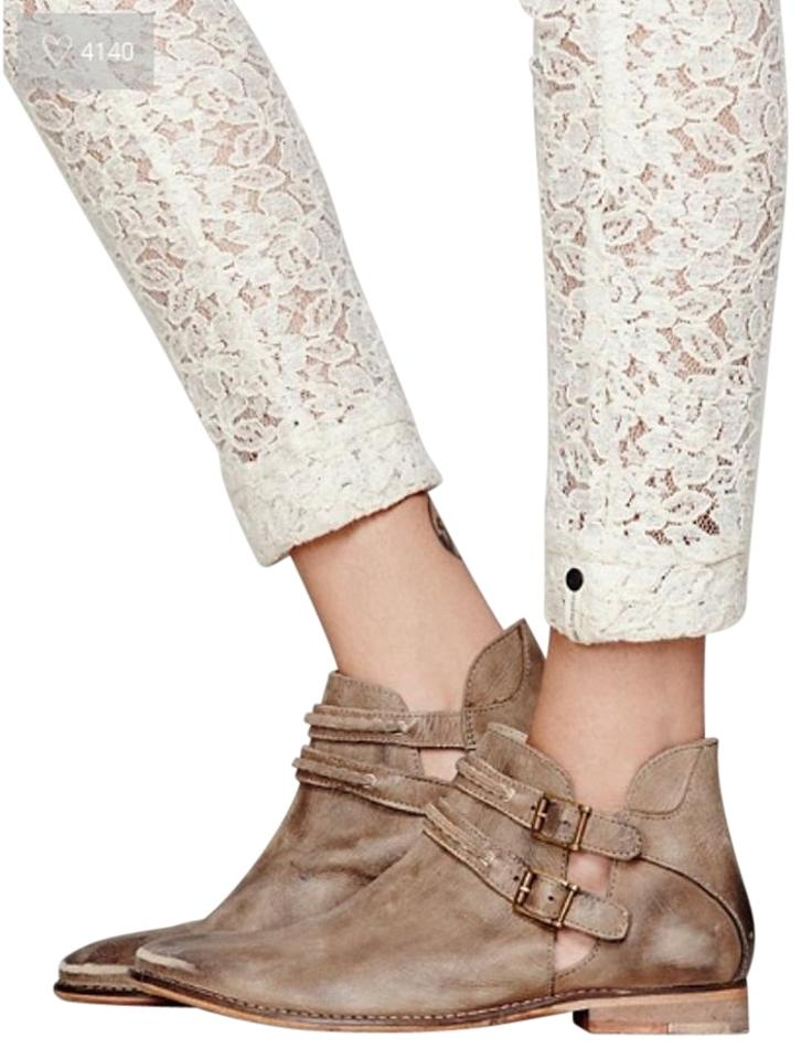 51e083b541d3 Free People Taupe Braeburn Ankle Boots Booties Size US 9 Regular (M ...