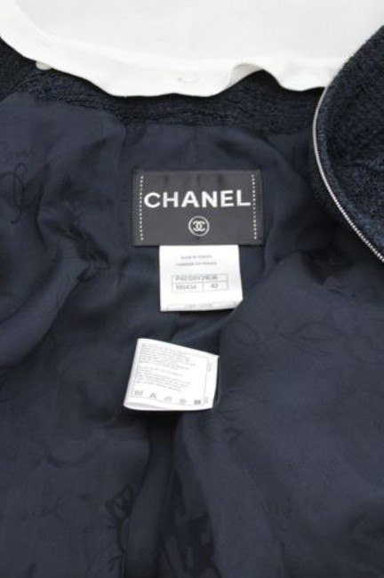 Chanel Cocktail Bell Silk Neck Military Jacket Image 5