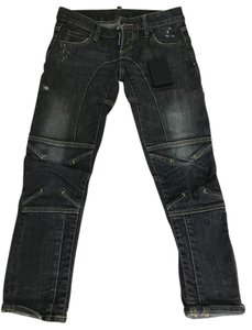 Dsquared2 Boot Cut Jeans-Medium Wash