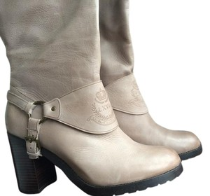 Ralph Lauren Knee High Classic Grey Boots