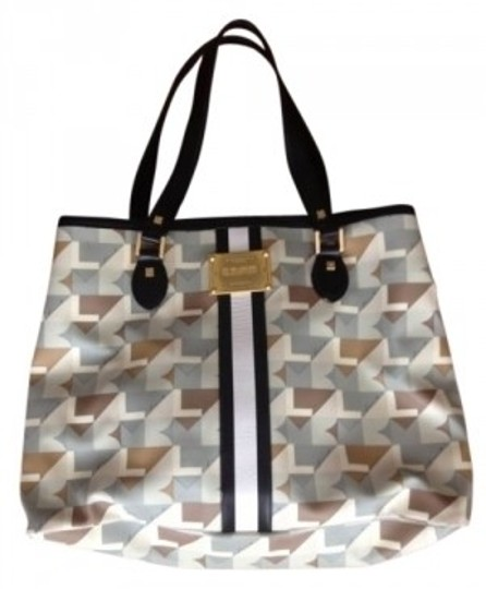 L.A.M.B. 'signature' Collapsible Item# 24727 Tote in Multi