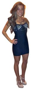 bebe Bodycon Strapless Mini Dress