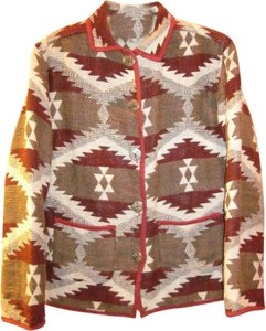 Jane Ashley Native American Design Multi-color Jacket