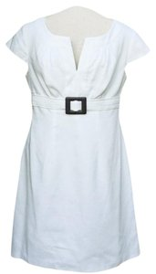Donna Ricco Cotton Belted Dress