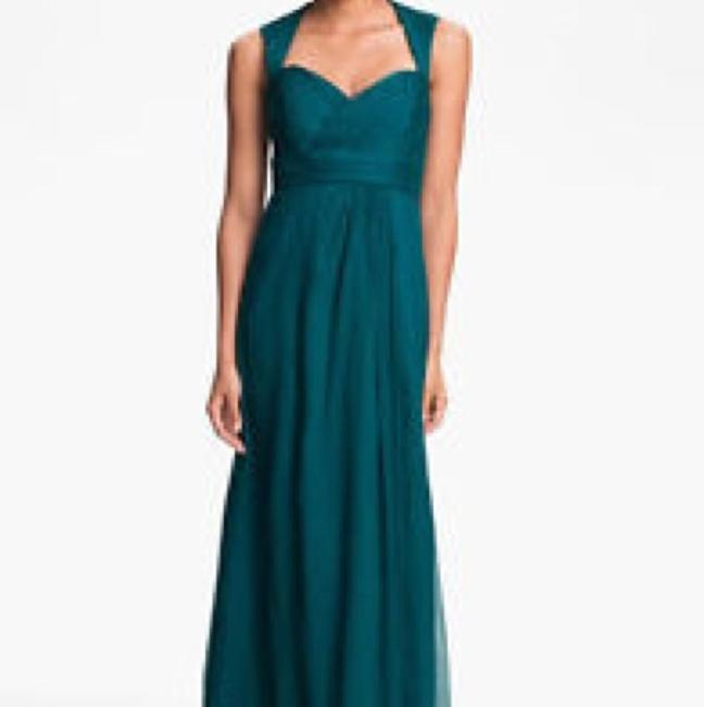 Item - Mallard Green Silk Formal Bridesmaid/Mob Dress Size 0 (XS)