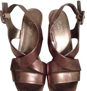 Franco Sarto Sandal Metallic Wedges