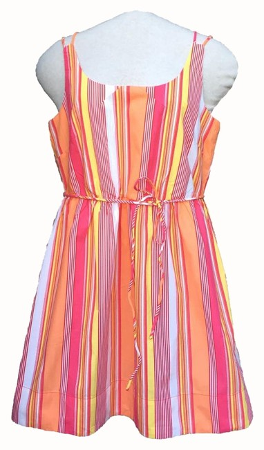 Preload https://img-static.tradesy.com/item/15741409/anthropologie-striped-tulle-colorful-knee-length-short-casual-dress-size-12-l-0-1-650-650.jpg