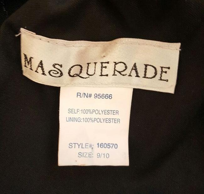 Masquerade Sequins Tulle Keyhole Dress Image 7