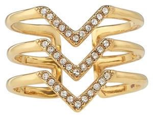 Stella & Dot Pave Ring Gold-one more week for sale!!!!!!!!