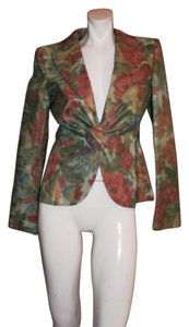 Armani Collezioni Fromal Cocktail Top Multi color Blazer