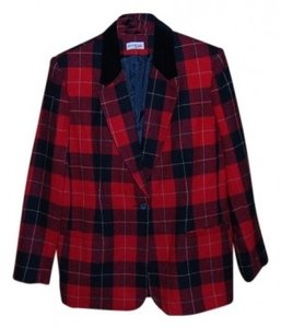 White Stag Red and Black Blazer