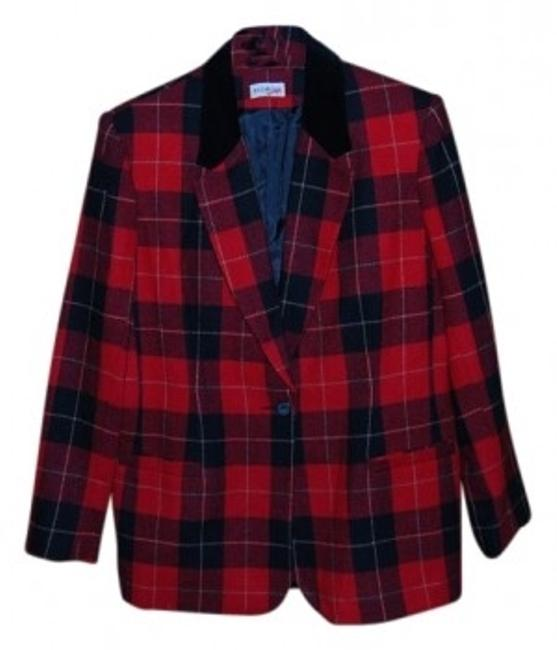 Preload https://item3.tradesy.com/images/white-stag-red-and-black-plad-blazer-size-16-xl-plus-0x-15742-0-0.jpg?width=400&height=650