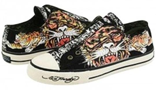 Preload https://item5.tradesy.com/images/ed-hardy-black-graphic-lowrise-sneakers-size-us-8-157424-0-0.jpg?width=440&height=440