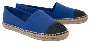 Tory Burch Jelly Blue/Tory Navy Flats