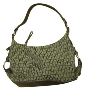 Tommy Hilfiger Colored Fabric Purse Hobo Bag