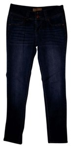Other Summer Beach Casual Festival Bohemian Skinny Jeans-Dark Rinse