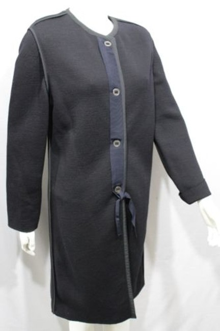 Lanvin Long Wool Italy Coat Image 1