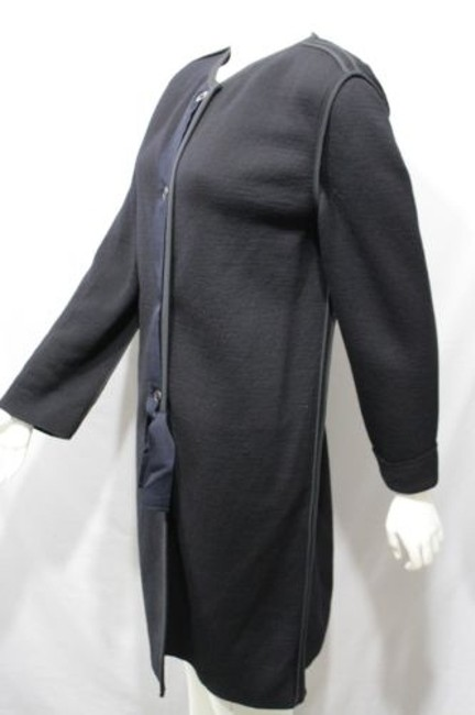 Lanvin Long Wool Italy Coat Image 11