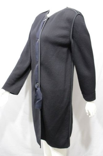 Lanvin Long Wool Italy Coat Image 3