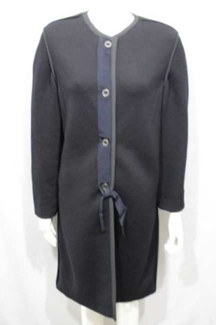 Lanvin Long Wool Italy Coat Image 6
