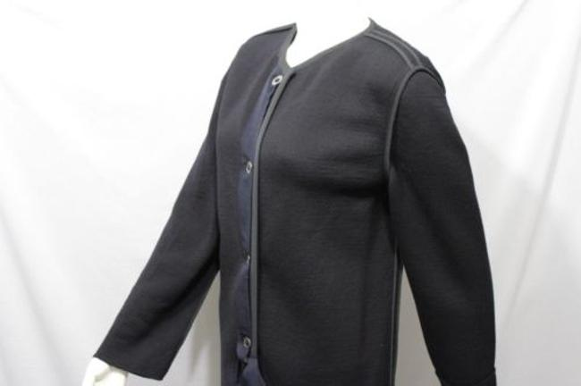 Lanvin Long Wool Italy Coat Image 9