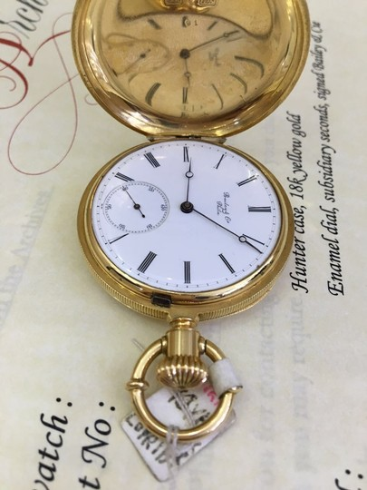 Patek Philippe Patek Philippe 18k Yellow Gold Pocket Watch 39.791 Image 1