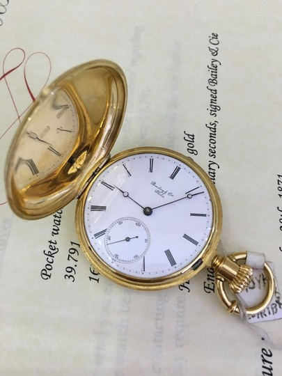 Patek Philippe Patek Philippe 18k Yellow Gold Pocket Watch 39.791 Image 2