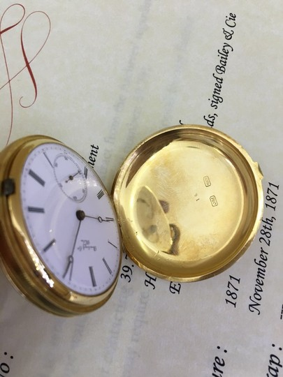 Patek Philippe Patek Philippe 18k Yellow Gold Pocket Watch 39.791 Image 5
