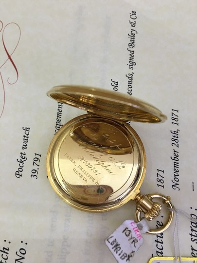 Patek Philippe Patek Philippe 18k Yellow Gold Pocket Watch 39.791 Image 7