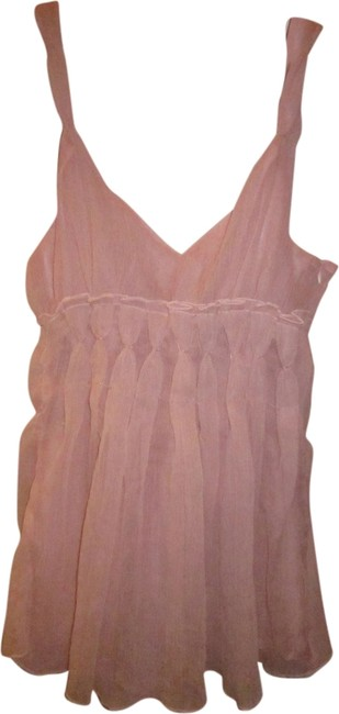 Peach drape baby-doll camis Pastel Color Beaded Top Peach