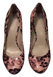 Nine West Leopard print with pink and brown Pumps
